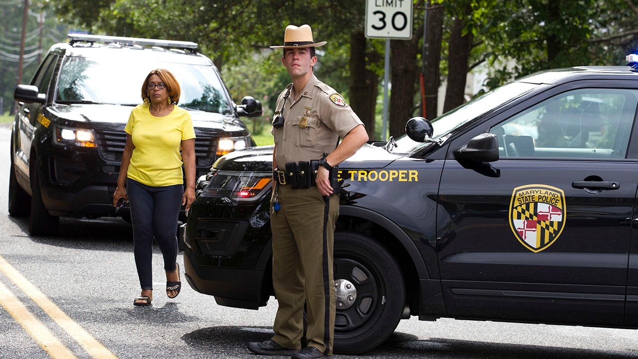 Suspected Maryland shooter in custody, may be a woman