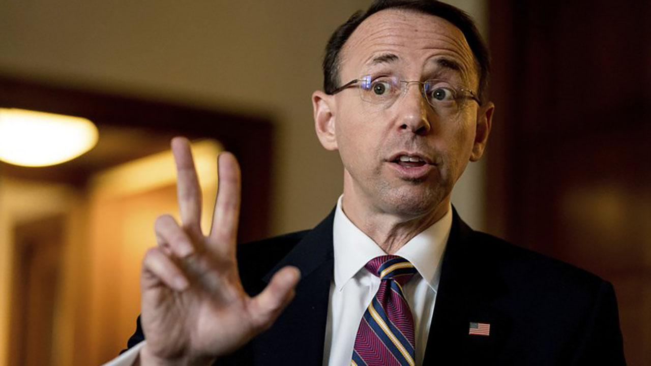 Rosenstein reportedly discussed wearing 'wire,' invoking 25th Amendment against Trump