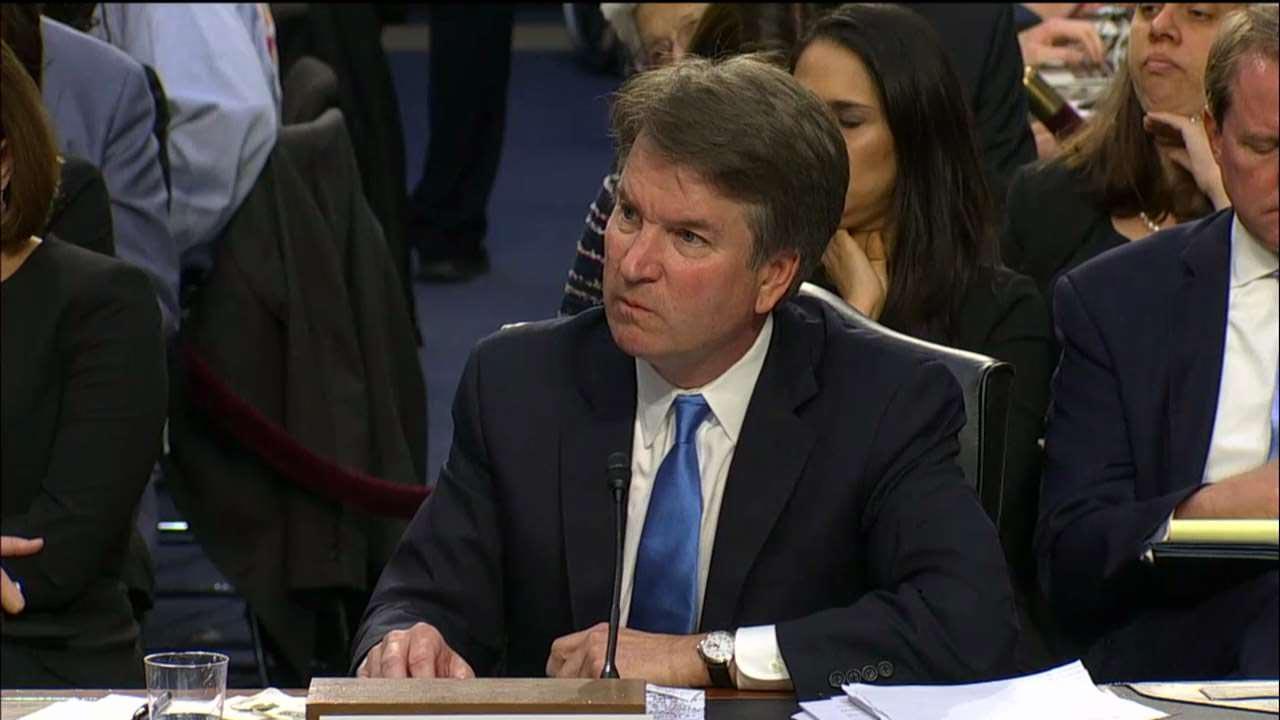 Kavanaugh allegation sends liberal rhetoric over the top