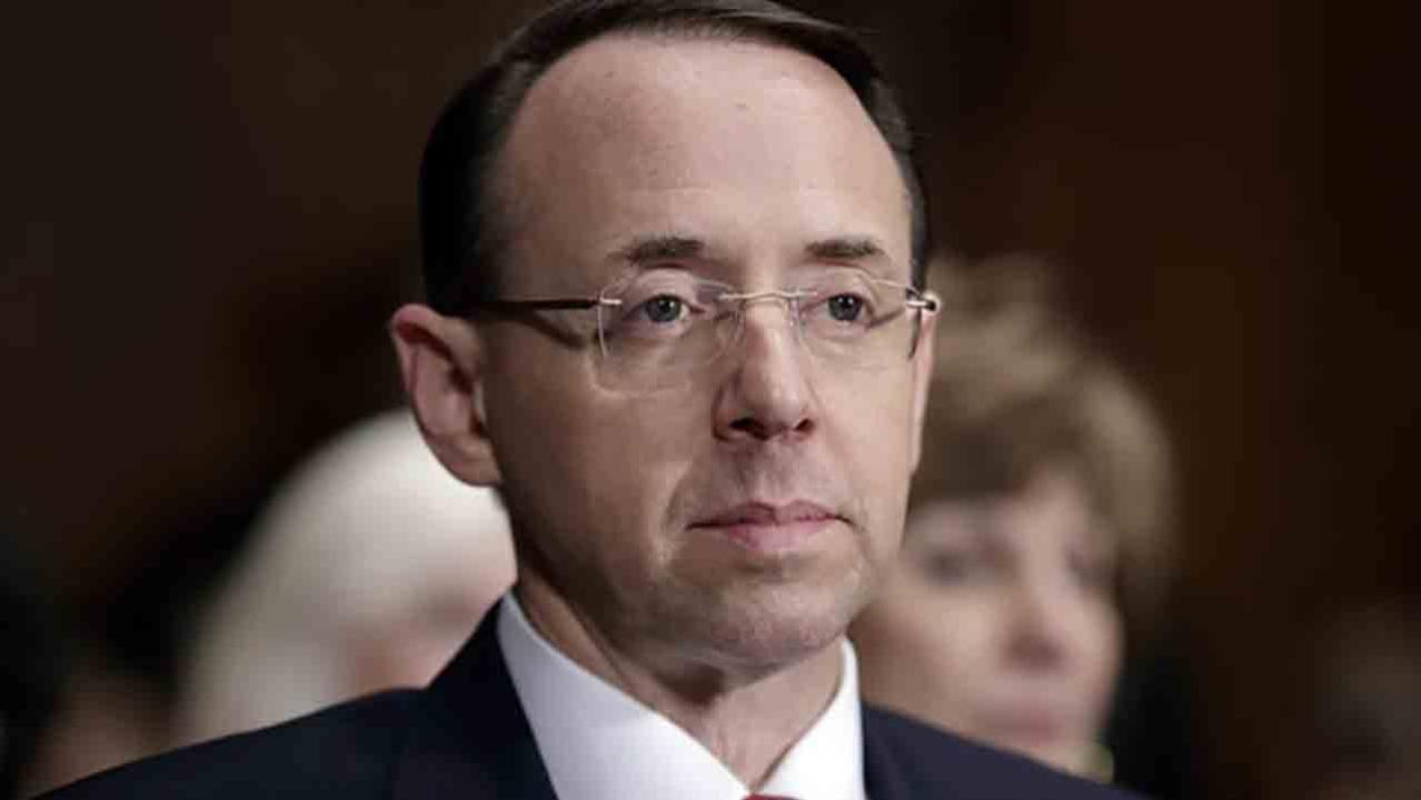 Rosenstein denies allegations in New York Times report