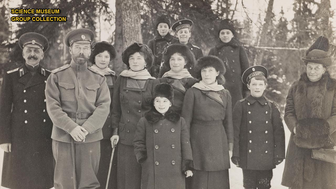 Incredible photos of the last czar and the Russian royal family surface