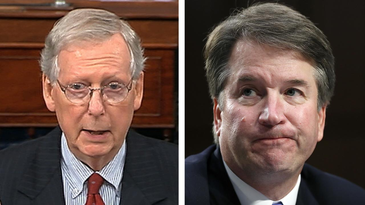 McConnell slams 'shameful' smear campaign against Kavanaugh
