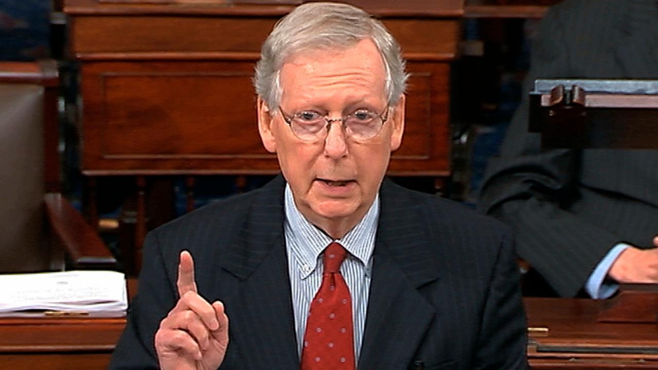 McConnell pushes for Kavanaugh vote on Senate floor
