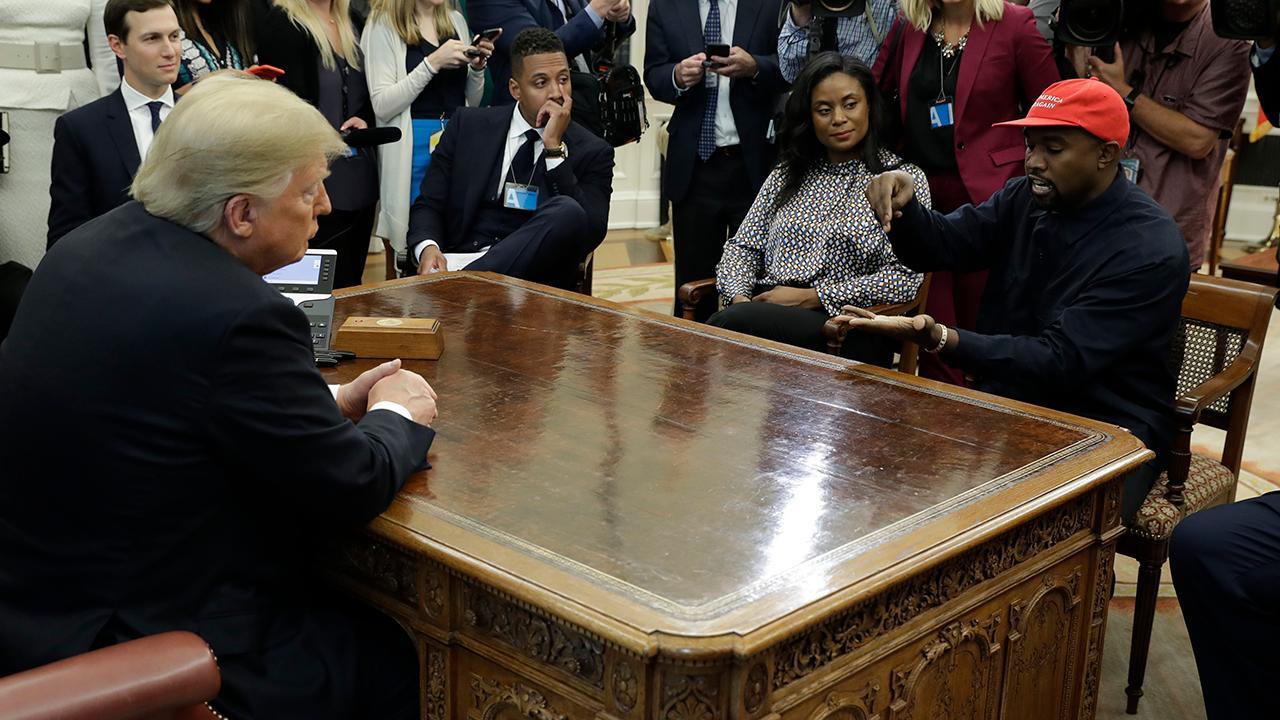 Kanye West talks politics after seeking distance from politics