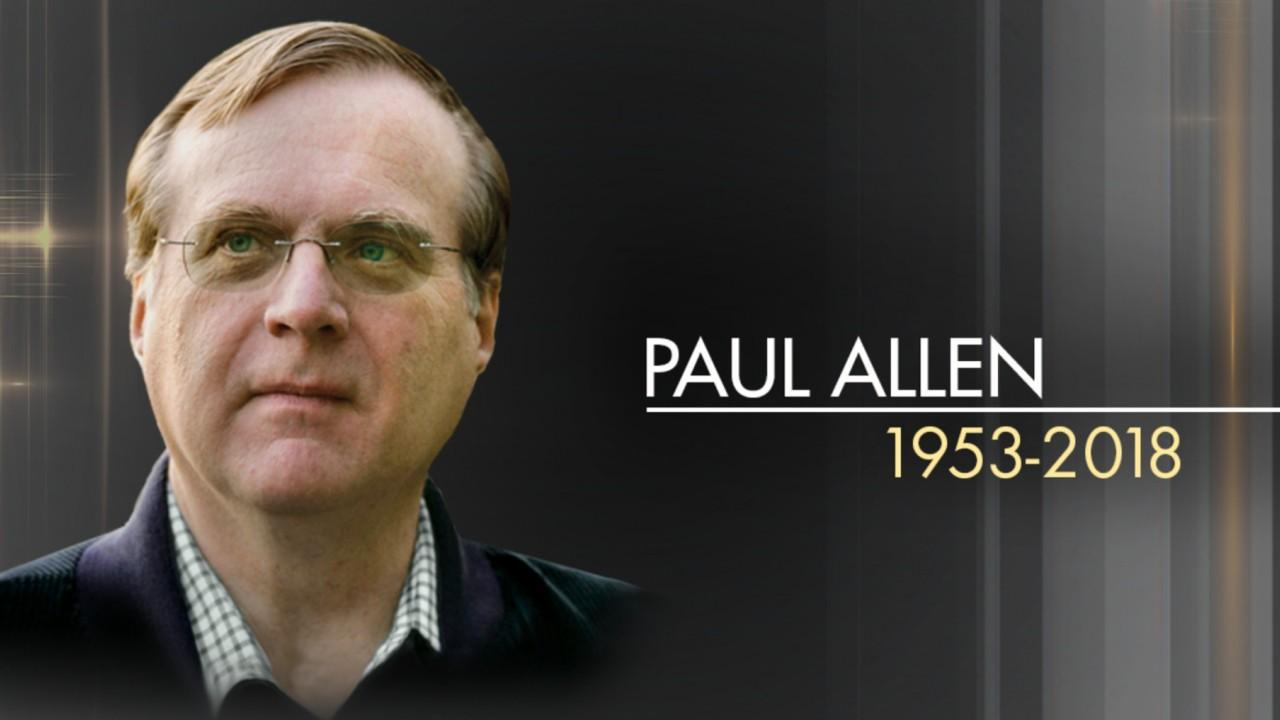 Microsoft co-founder Paul Allen has died at the age of 65 due to cancer complications.
