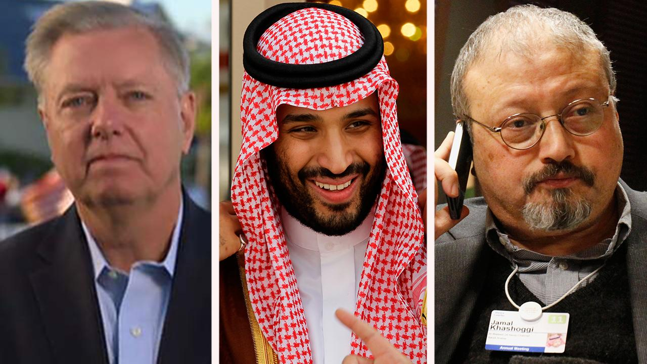 The Republican senator points the finger at Crown Prince Mohammed bin Salman for the 'brutal' killing of the Washington Post columnist and weighs in on the upcoming midterm elections.