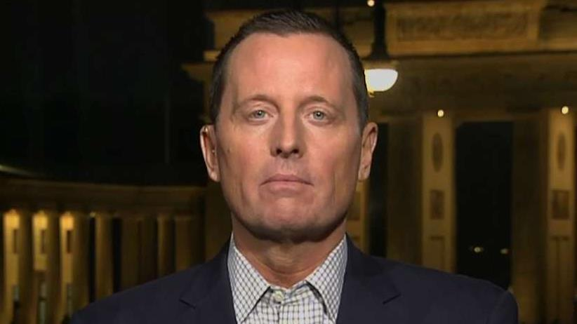 U.S. Ambassador to Germany Ric Grenell weighs in.
