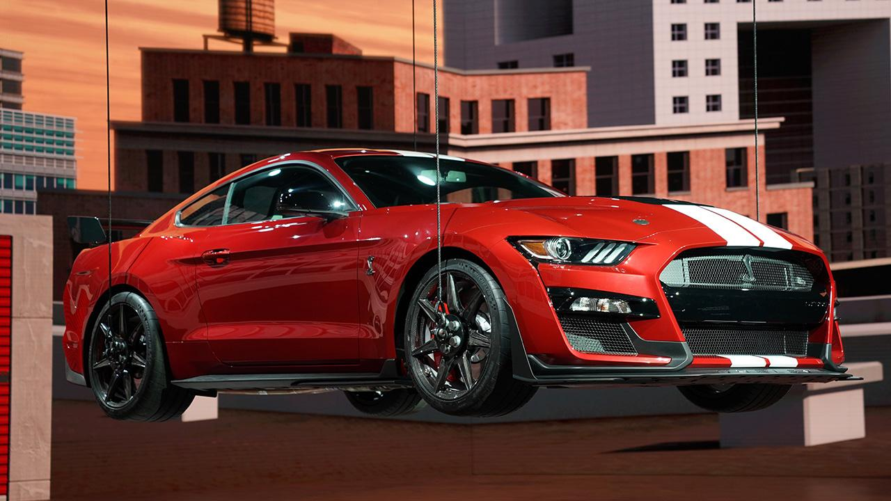 Ford Executive Vice President Jim Farley says customers will still want to drive sports cars like the new Mustang Shelby GT500 and Explorer ST even when the market shifts to electric and autonomous vehicles.