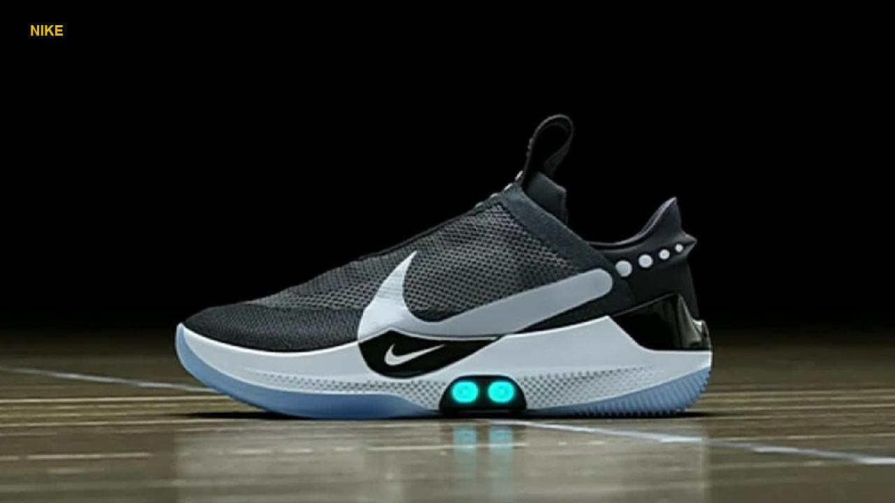 Nike unveiled a self-lacing basketball sneaker that allows wearers to customize their fit in real time through a phone app. Dubbed the Nike Adapt BB, the sneaker automatically resizes once placed on the foot. Once in place, athletes can use buttons on the side of the sneaker or access an app in order to adjust the fit according to their needs. Nike tapped Boston Celtics star Jayson Tatum to test the gear before its public unveiling.