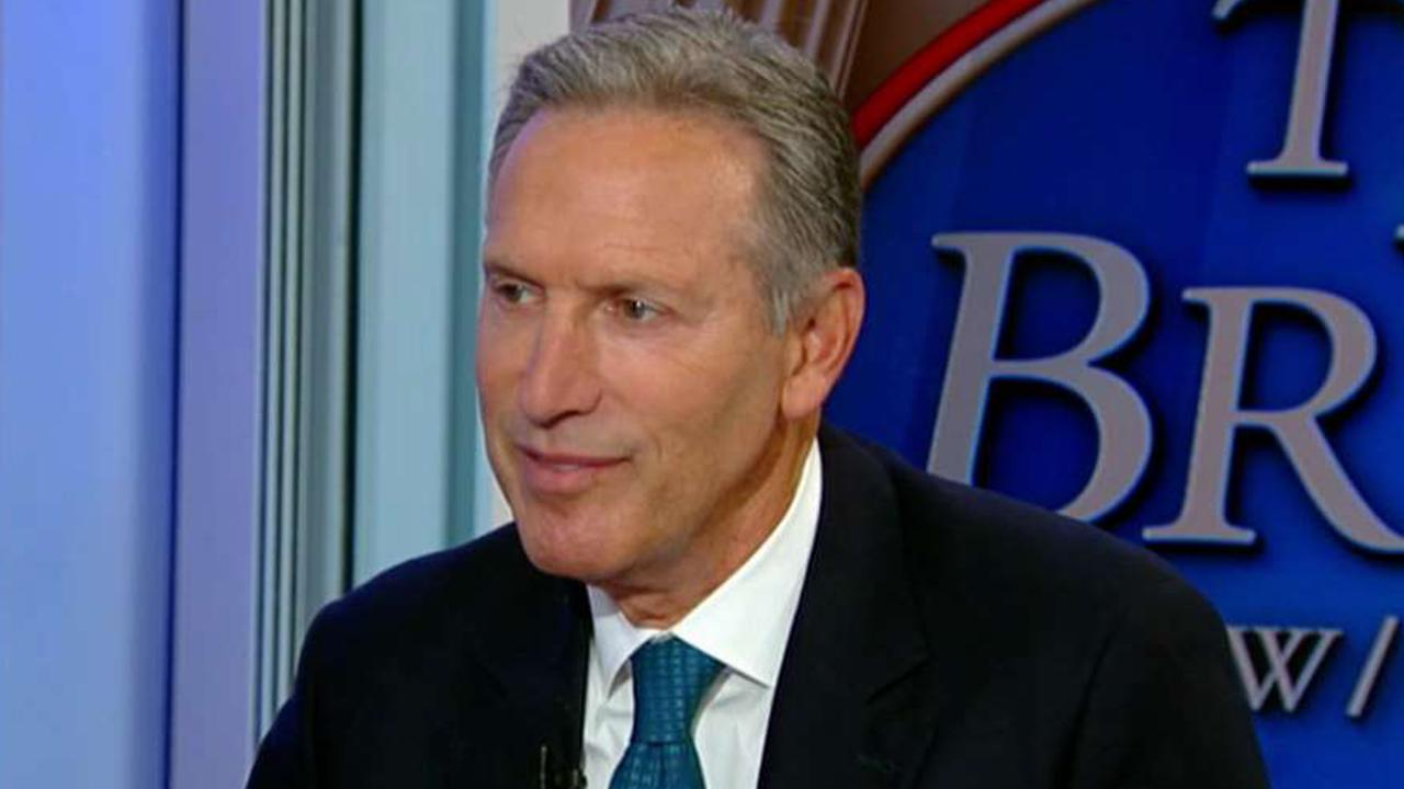 Former Starbucks CEO Howard Schultz says that if he launches an independent White House run it is more likely that lifelong Republicans would vote for him than Democrats.