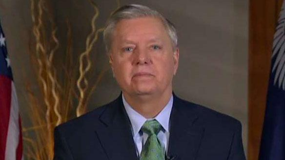 South Carolina Republican Sen. Lindsey Graham says President Trump will not sign a bill that includes less bed space for ICE detention facilities for violent offenders.
