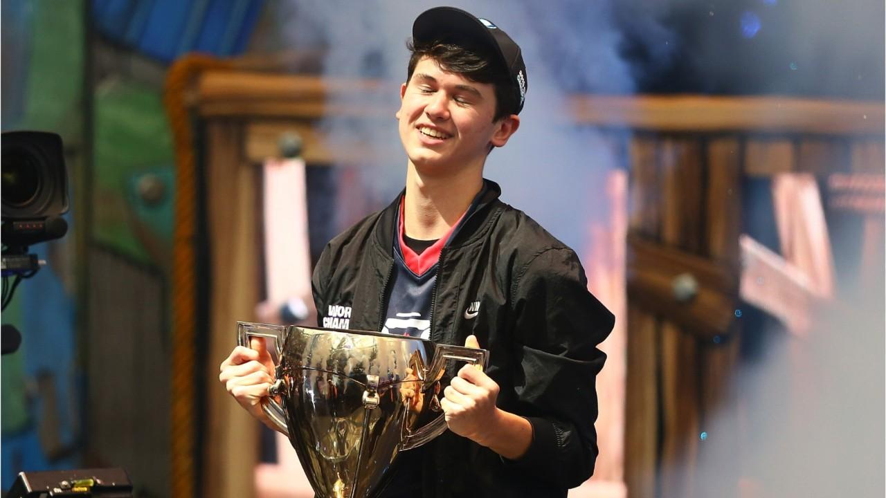 16-year-old wins $3 million dollar prize in 'Fortnite' world cup.