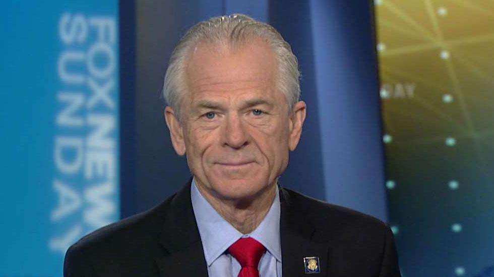 White House trade adviser Peter Navarro joins Chris Wallace on 'Fox News Sunday.'