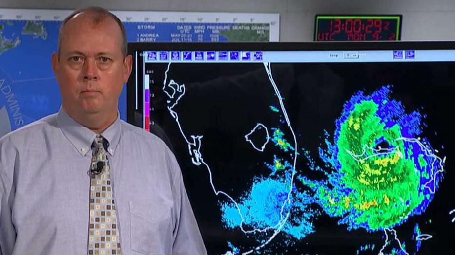 National Hurricane Center Director Ken Graham gives an update on the Category 5 hurricane's position and path.