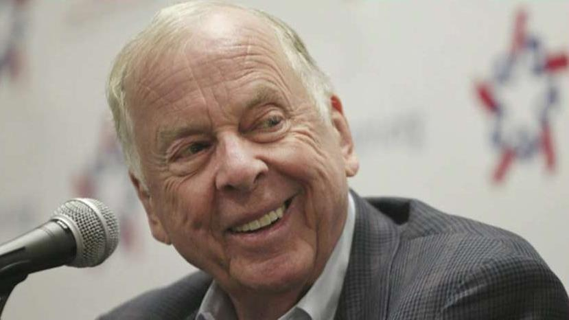 T. Boone Pickens was a rare corporate figure bigger than life, says Neil Cavuto.