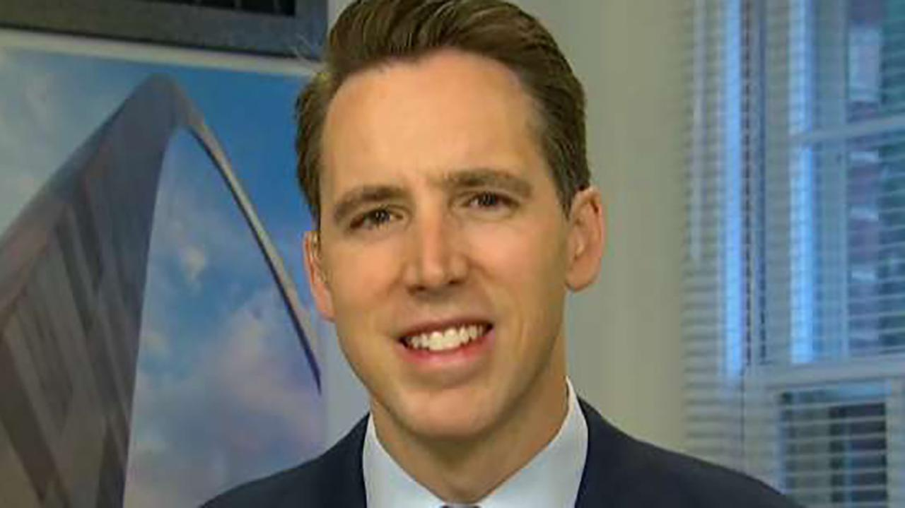 Republican Sen. Josh Hawley breaks down his National Security and Personal Data Protection Act.