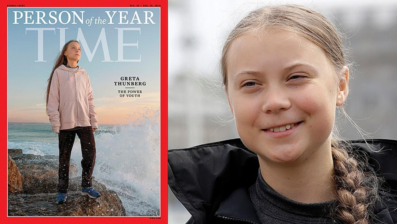 Greta Thunberg called a 'brat' by Brazilian president Jair Bolsonaro. Thunburg, known for her climate change activism, was named 2019 person of the year by Time Magazine shortly after Bolsonaro questioned why the media pays attention to her.