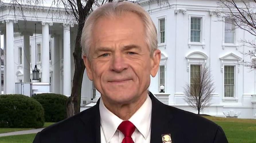White House trade adviser Peter Navarro reveals his big predictions for the stock market, trade and unemployment in 2020 on 'America's Newsroom.'