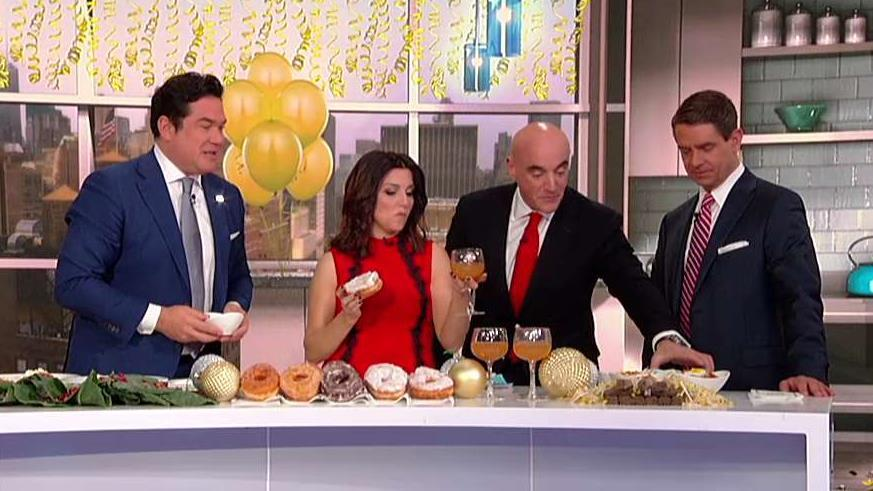 From grapes to donuts to noodles, Fresco by Scotto owner Anthony J. Scotto stops by 'Fox & Friends' with global food traditions to ring in 2020.