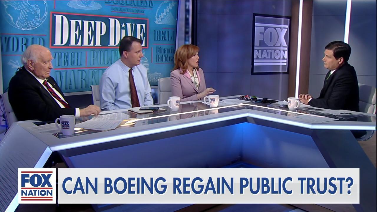 Can Boeing regain the public's trust?