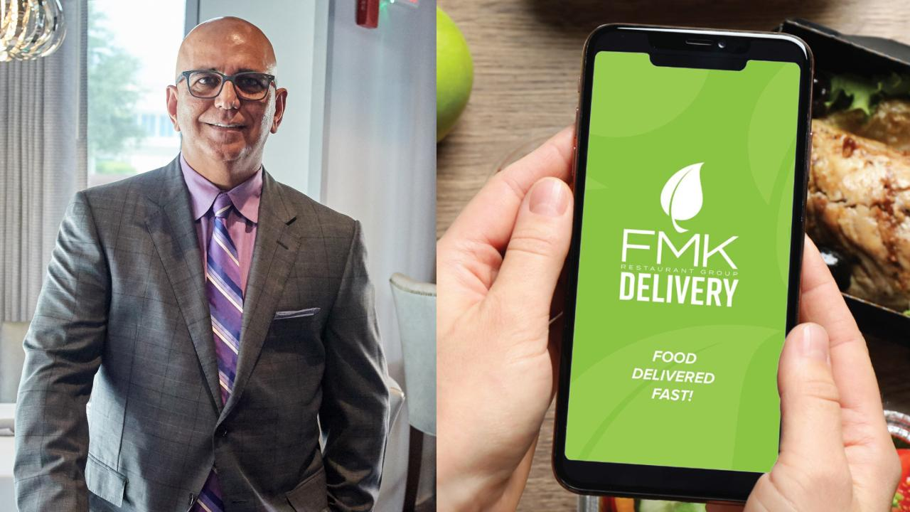 Coronavirus mandate: In the wake of Florida Governor Ron DeSantis' call to shut down bars and restaurants, the FMK Restaurant Goup releases food delivery app.