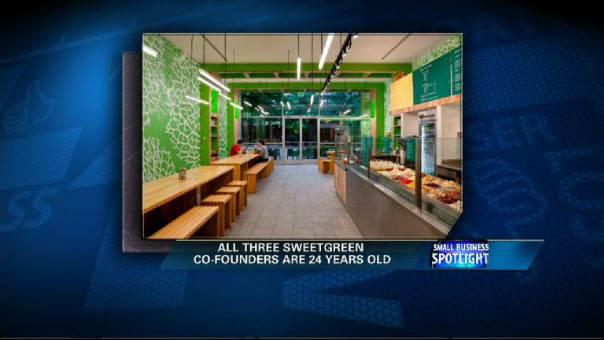 Sweetgreen's founders on how the business they started after college is flourishing in a down economy.