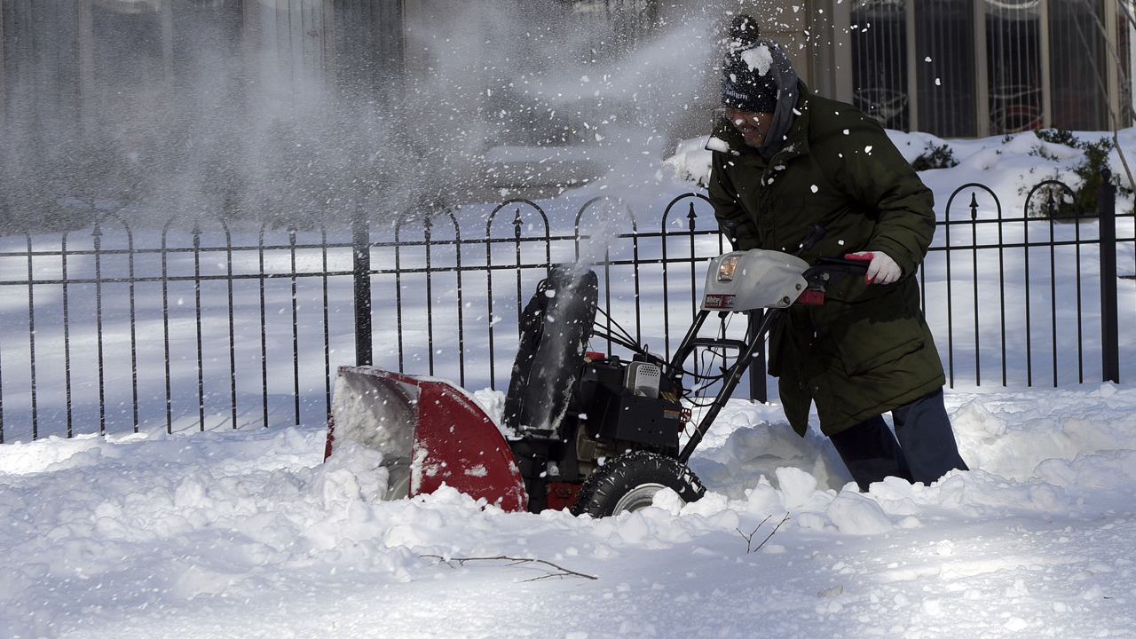 East Coast recovering after massive blizzard