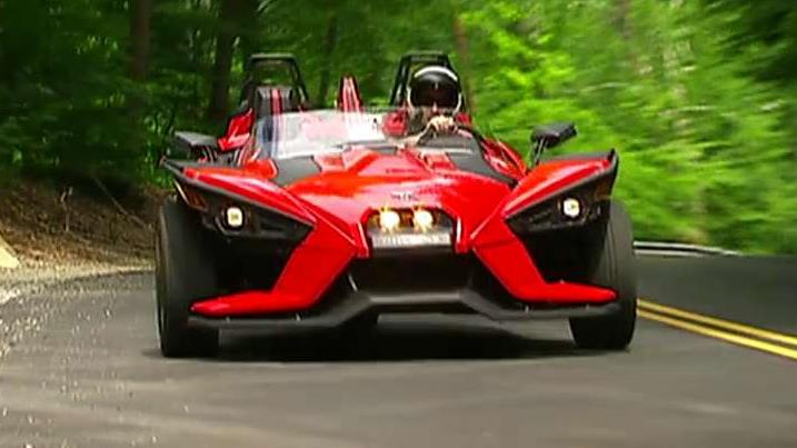 Polaris Slingshot is the talk of the sports world