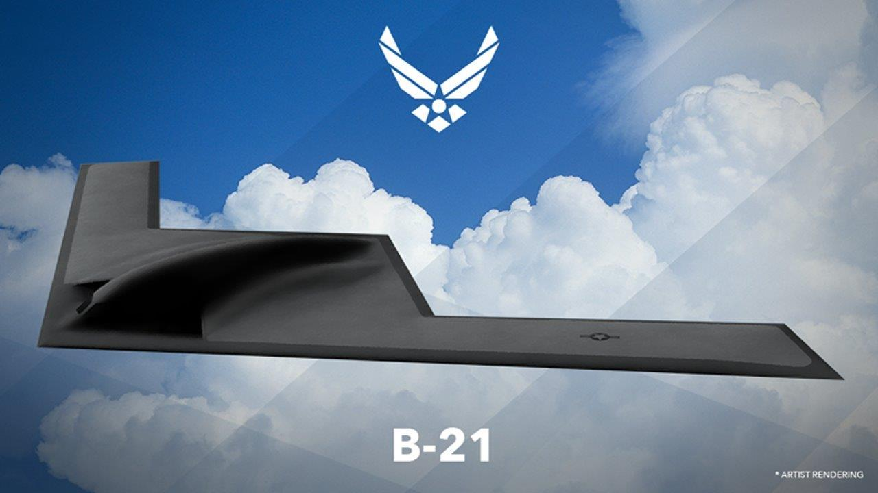 Is the Air Force 'accelerating' the B-21 futuristic long range bomber?