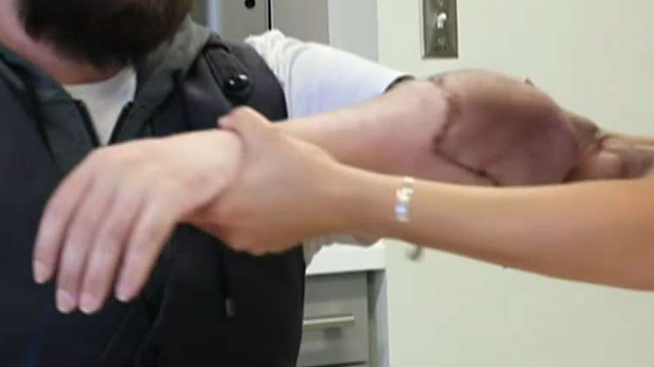 Former Marine receives double arm transplant