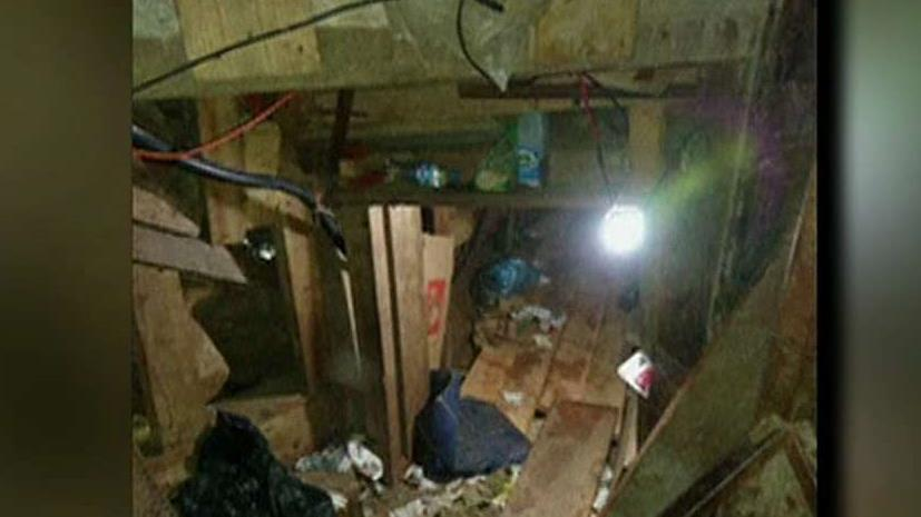 Mexican police uncover massive drug tunnel leading into the US