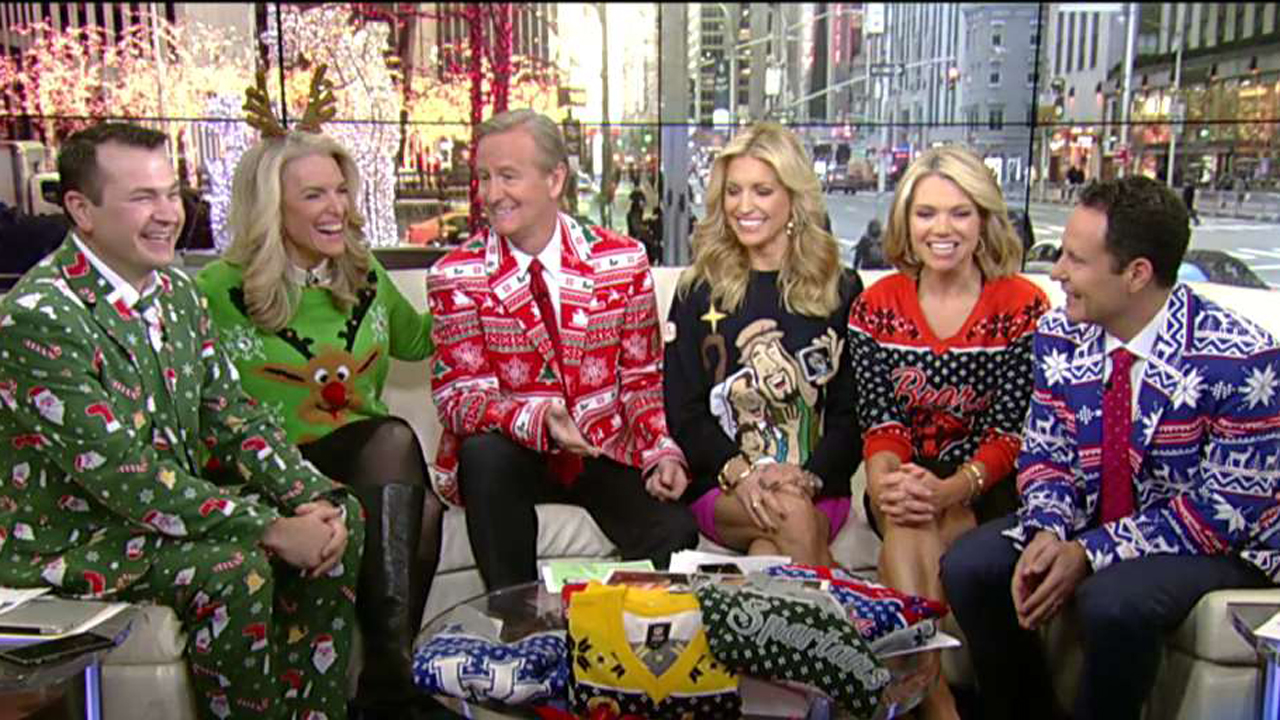 what to wear to an ugly christmas sweater party on air videos fox news