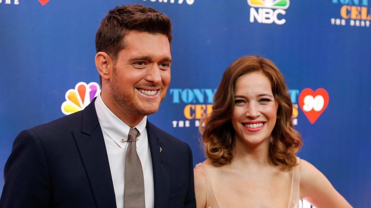 Michael Buble's wife updates on son's health