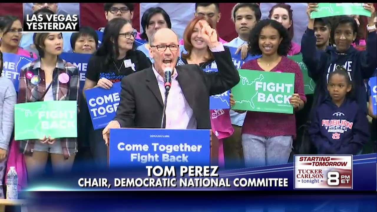 Congressional Black Caucus votes 'no confidence' in Democratic Chairman Tom Perez