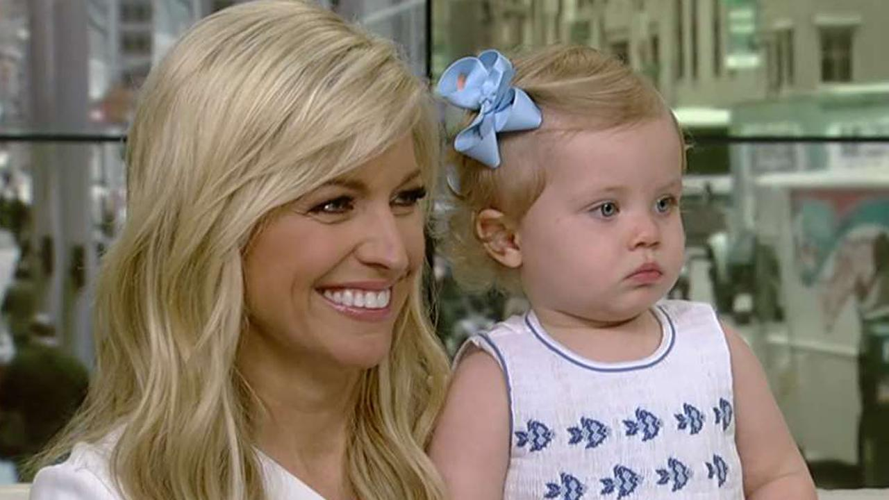 Ainsley Earhardt brings daughter Hayden to work
