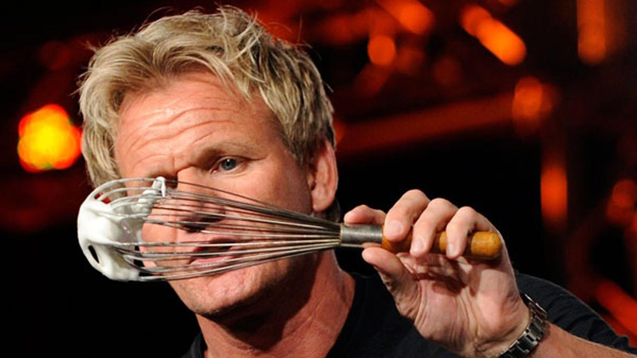 Gordon Ramsay on the challenges of cooking live