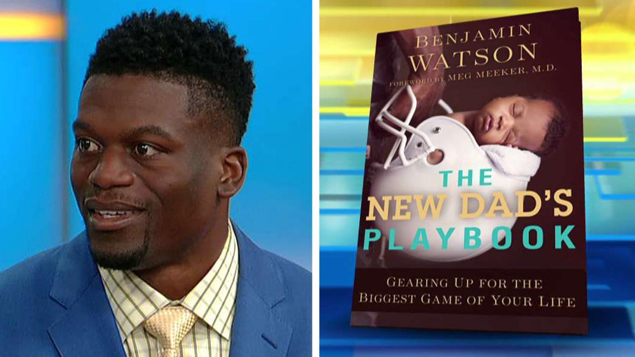 d2bd2139 Benjamin Watson talks 'The New Dad's Playbook'   Fox News Video