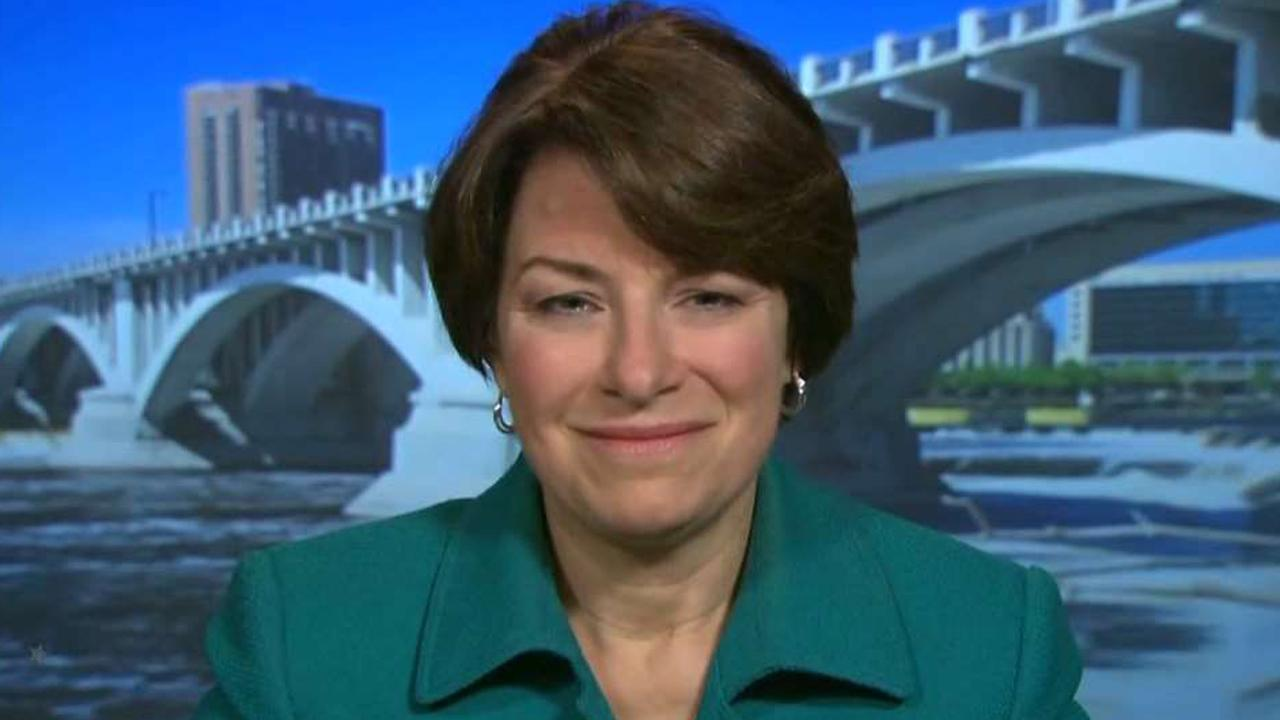 Sen. Amy Klobuchar on nation's toxic political climate