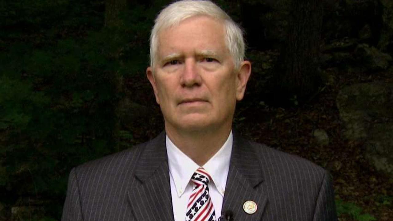 Alabama congressman speaks out on 'Sunday Morning Futures'