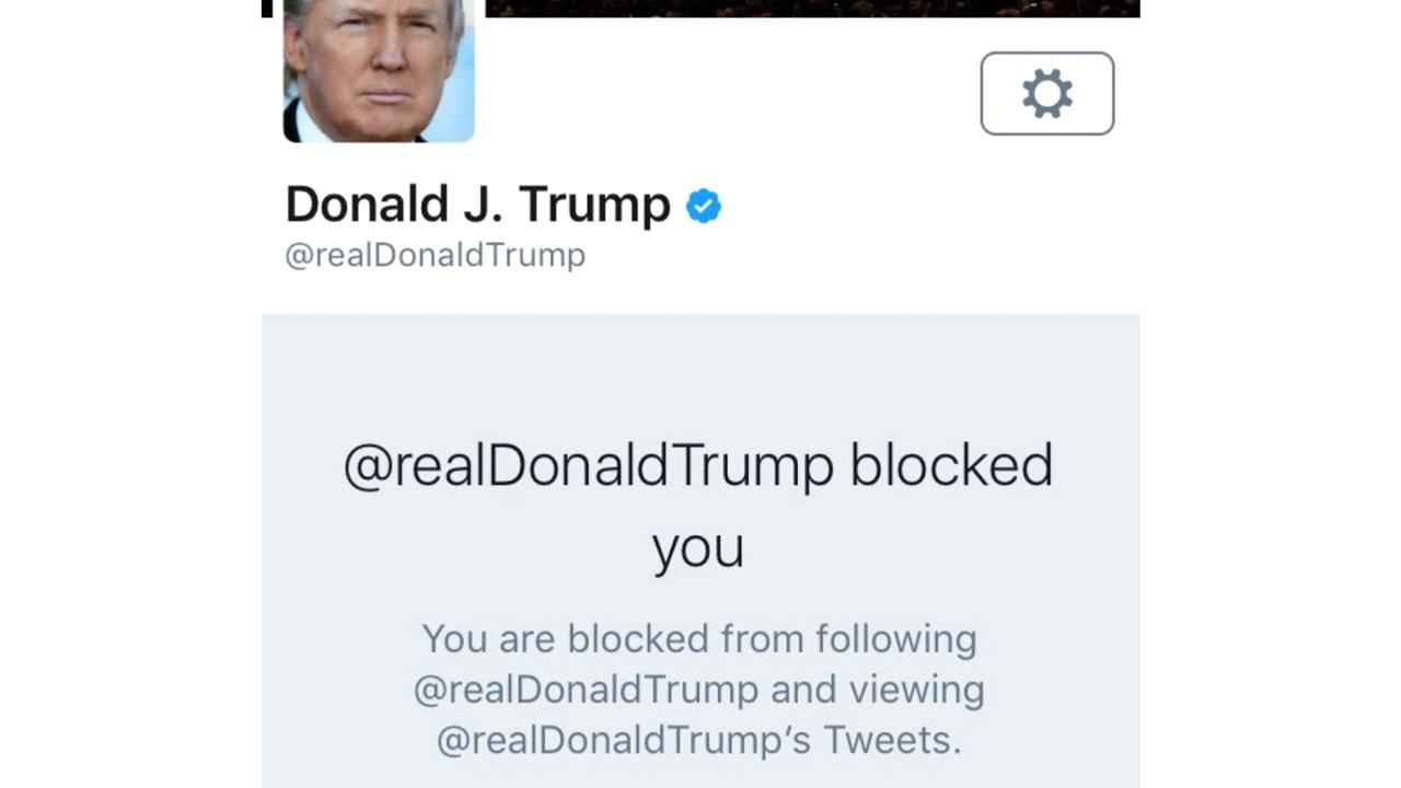 President Trump sued over blocking Twitter users