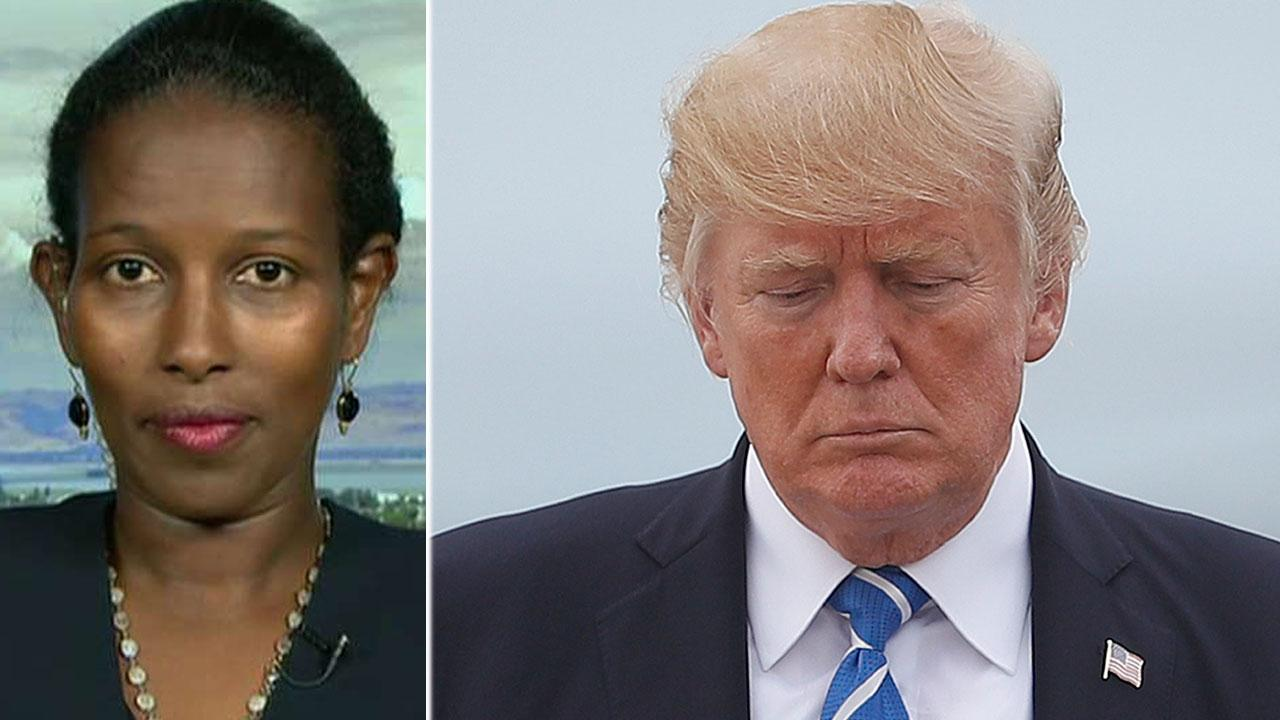 Ayaan Hirsi Ali slams 'head in the sand' approach on 'Sunday Morning Futures'