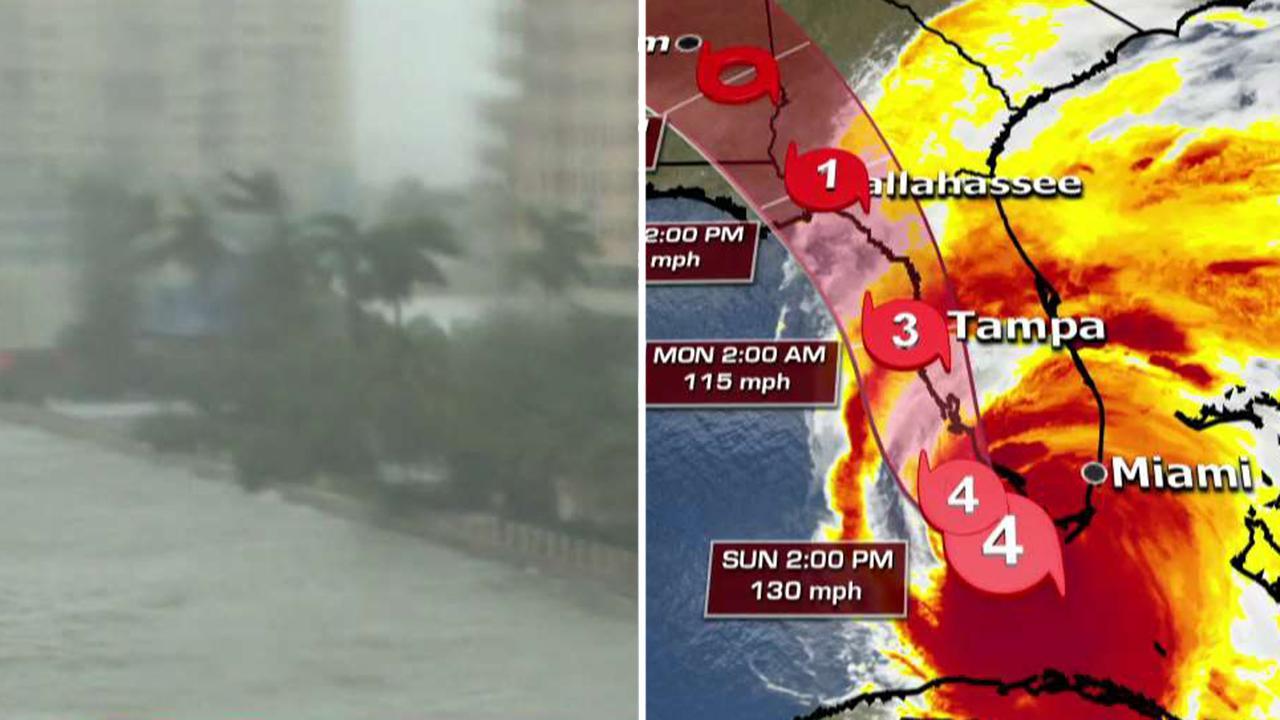 Hurricane Irma makes landfall in Florida Keys