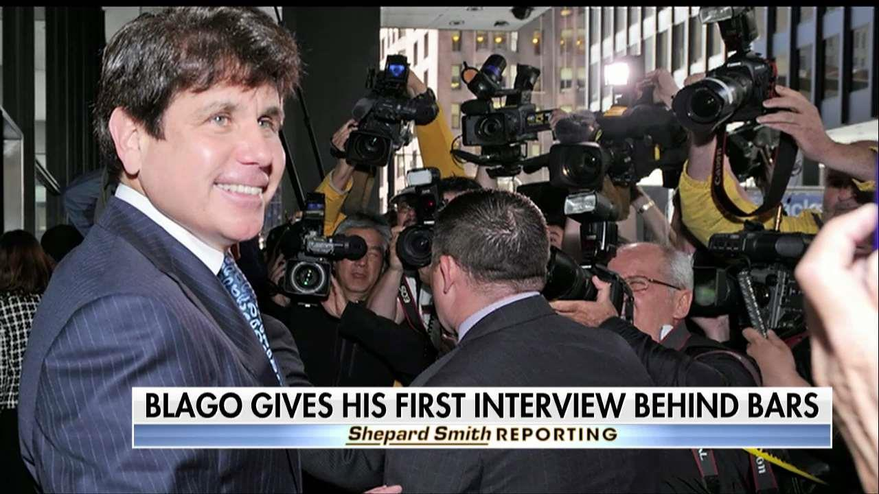 Blagojevich gives his first prison interview