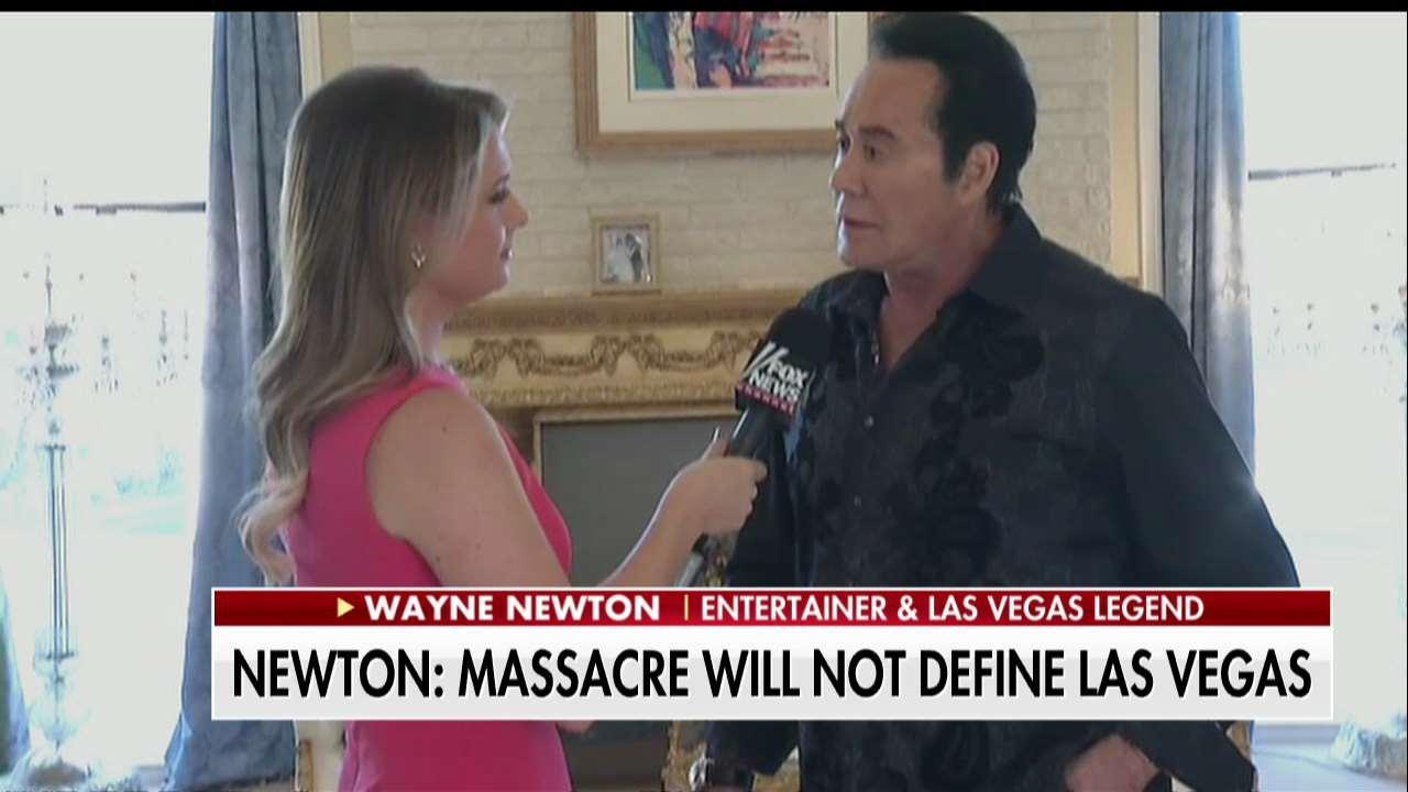 Wayne Newton discusses Las Vegas massacre