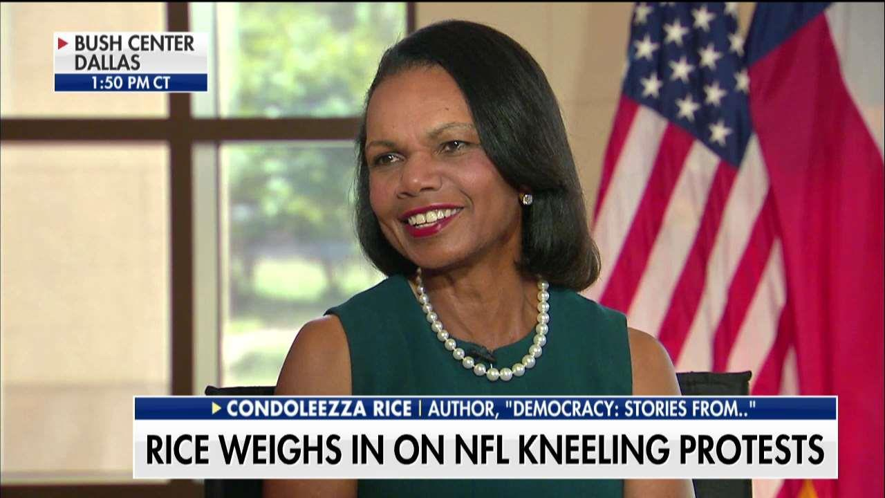 Condoleezza Rice: Flag Should Be Respected Because People Sacrificed, Not Because America is Perfect