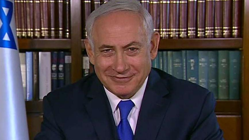 Israeli prime minister speaks out on 'Sunday Morning Futures' about preventing Iran's nuclear capabilities.