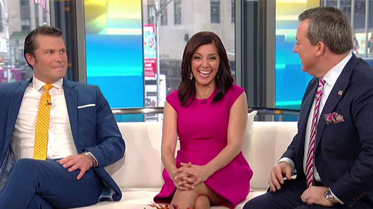Something is. Fox news women wardrobe oops are