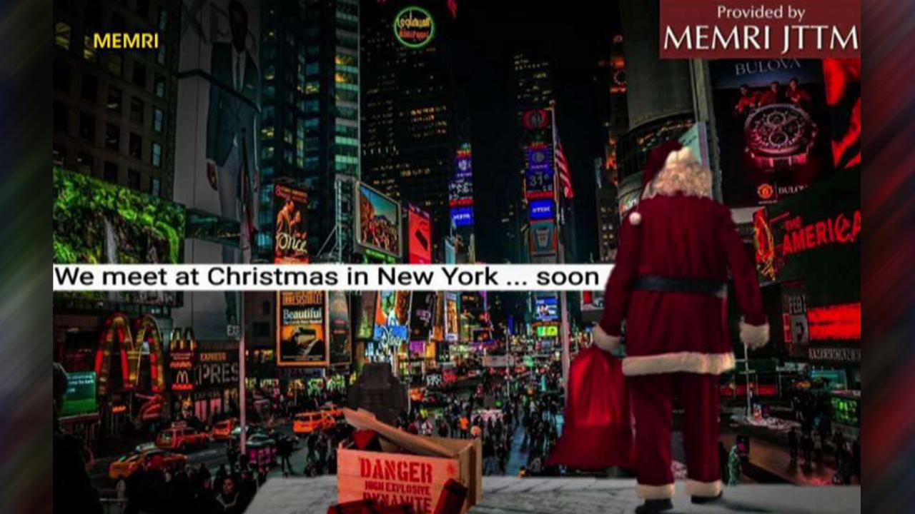ISIS threatens Christmas attack on NYC\'s Times Square | On Air ...