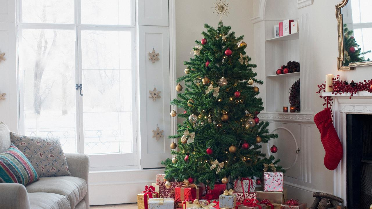 Mom discovers Christmas tree allergy