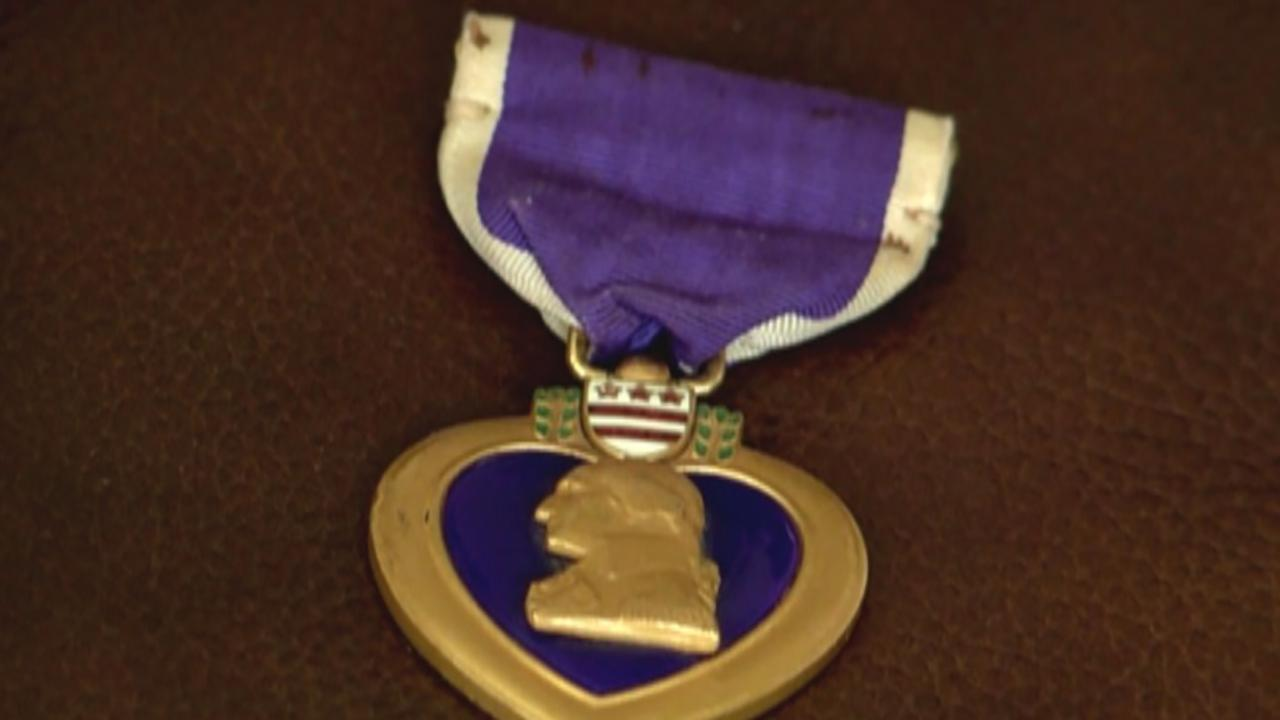 Family on mission to return Purple Heart to rightful owner